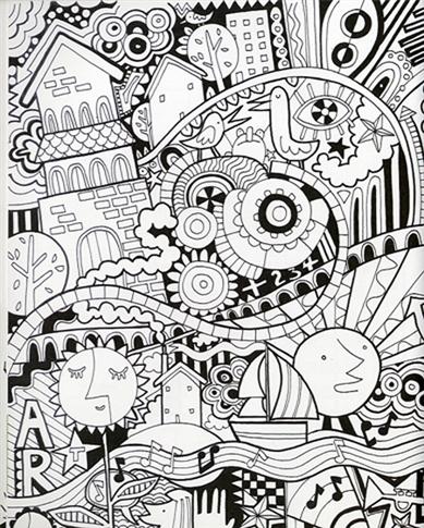 copyright 2017 usborne publishing - Usborne Coloring Books