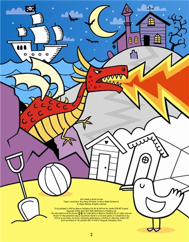 Usborne See Inside Very Big Colouring And Activity Book