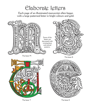 Usborne See Inside Celtic Patterns To Colour