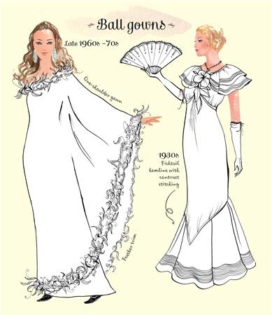 usborne see inside vintage fashion colouring book - Fashion Coloring Book